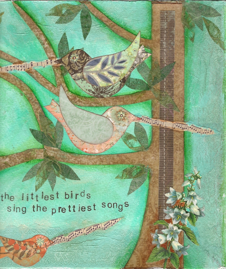 """Littlest Birds"" by Heather Gailey 2013"