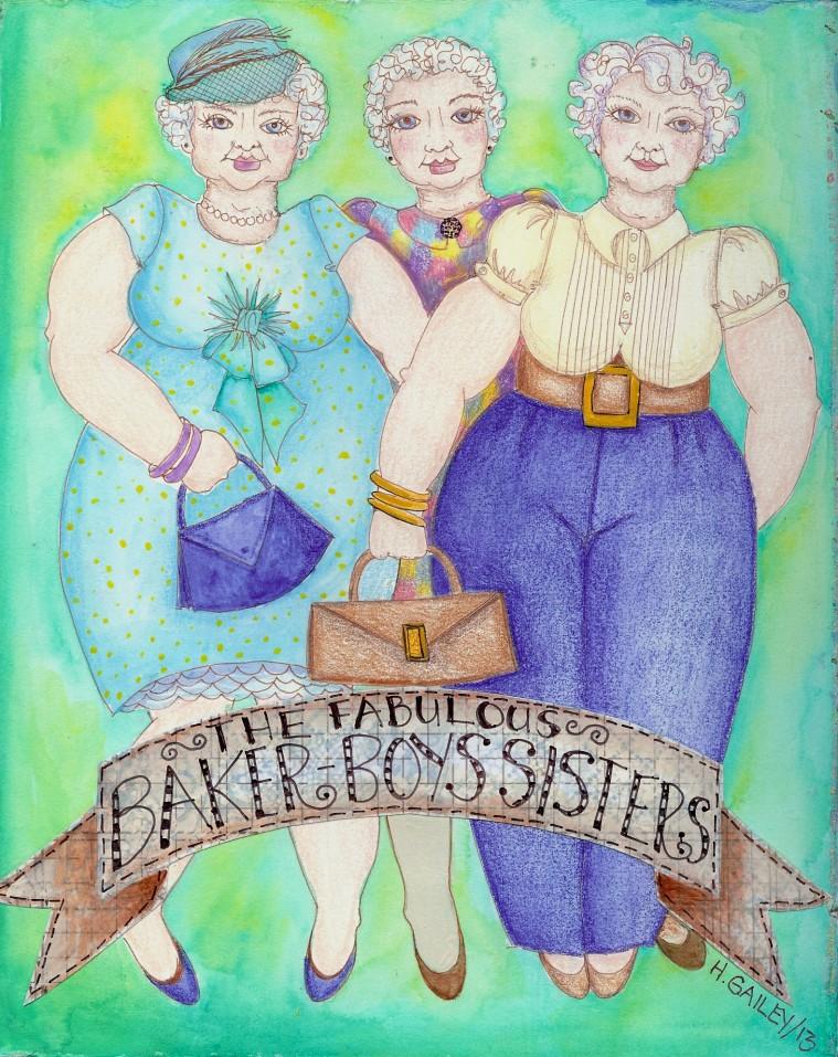 The fabulous Baker Boys sisters