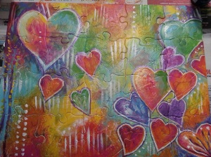 Completed Love Puzzle by Heather Mitchell Gailey