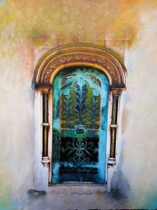 Photos/paintings of doors from around the world